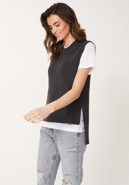 Cotton Rib Tank Top
