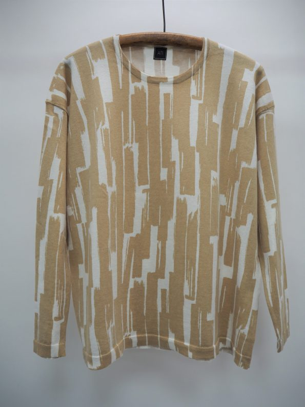 Cotton / Cashmere Print Top